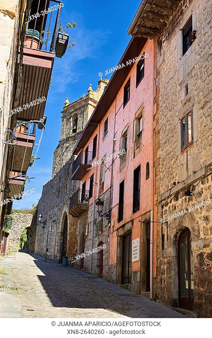 Calle San Marcial (San Marcial Street) Laredo, Cantabria, Spain, Europe