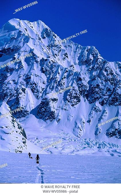 Mountaineering, St  Elias Mountains, Yukon, Canada