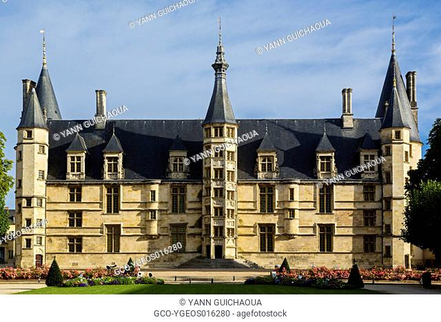 The Palace of the Dukes, Nevers, Nievre, France