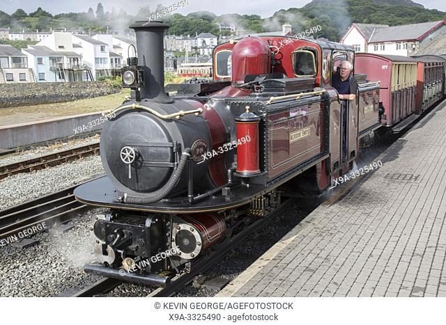 Ffestiniog and Welsh Highland Railways; Porthmadog; Wales; UK