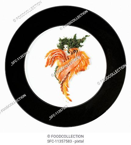 Fashion Food: graved salmon with dill (Sweden)
