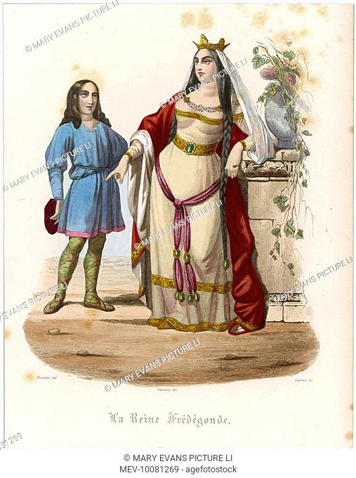 FREDEGONDE Wife/Queen of Chilperic I, King of Neustria