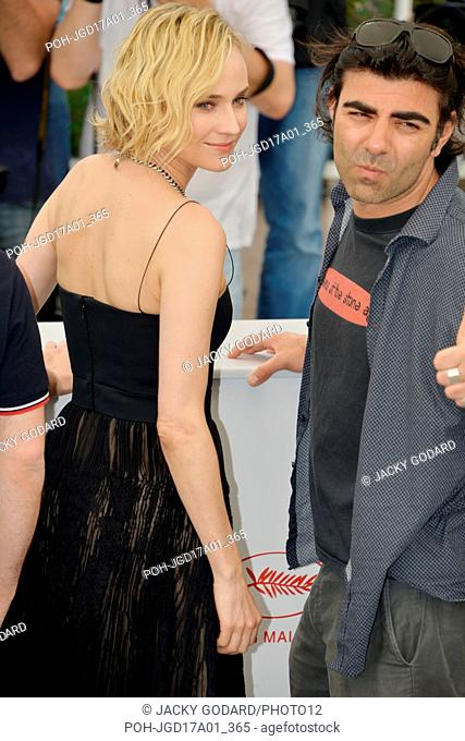 Diane Kruger and Fatih Akin Photocall of the film 'Aus Dem Nichts' (In the Fade) 70th Cannes Film Festival May 26, 2017 Photo Jacky Godard