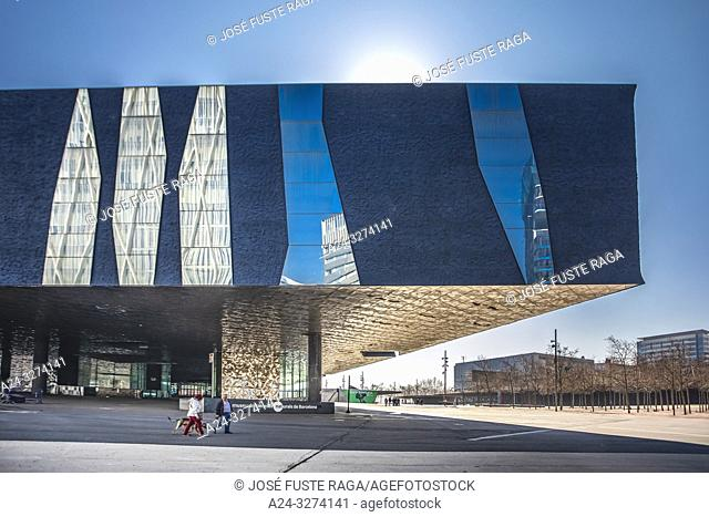 Barcelona City, Diagonal Mar District, Forum Bldg