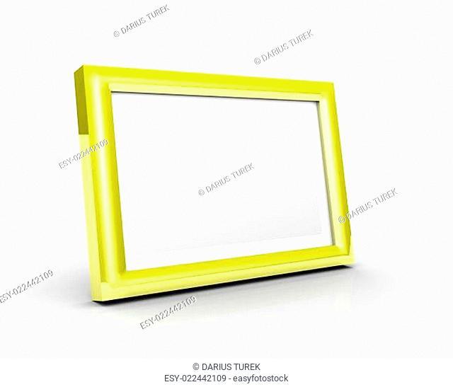 3D Fotorahmen - Gold