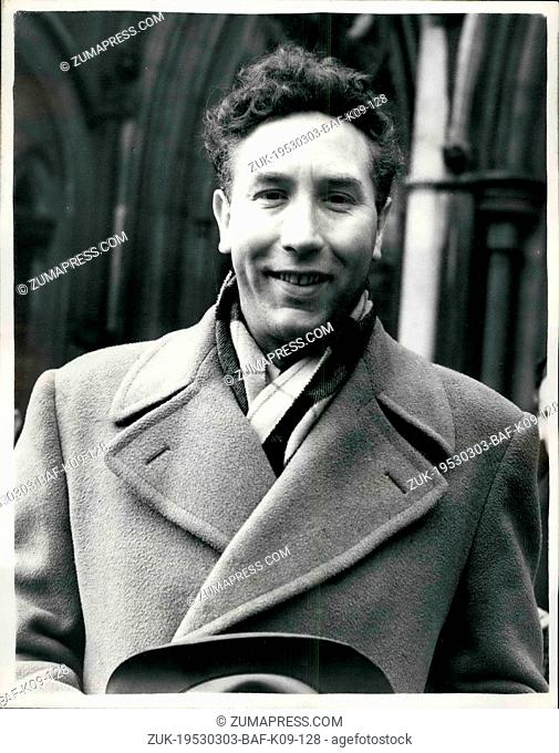 Mar. 03, 1953 - Frankie Howard Award -5, 000 Against Jack Payne: Comedian Frankie Howard was awarded -5, 000 this afternoon at the High Court - when he won his...