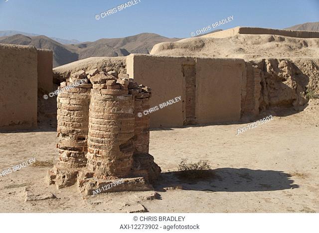 Old fire temple, Old Nisa, near Ashgabat; Turkmenistan