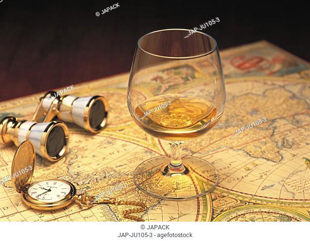 Brandy on map