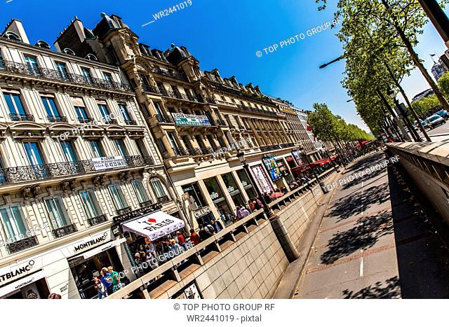 France;Paris;Champs Elysees Ave