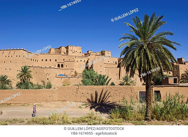 Taourirt Kasbah in Ouarzazate, Morocco
