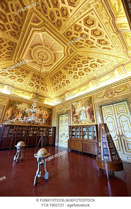 Third Room of The Library  Queen Mary Caroline commissioned German painter Freidrich Heinrich Fuger to decorate the Third Library Room  The paintings on the...