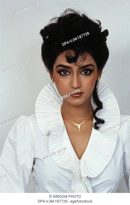 1990, Portrait of Indian film actress Anuradha Patel