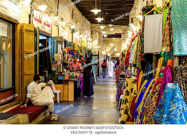 Colourful Shops In The Souk Waqif, Doha, Qatar