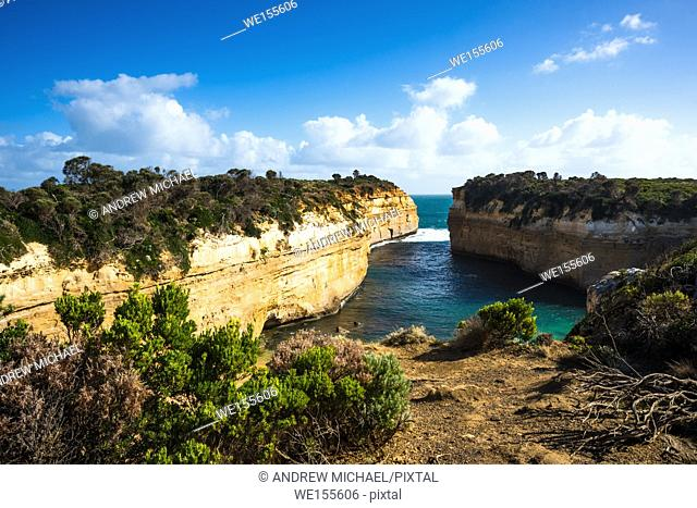 Loch Ard Gorge, Port Campbell on the Great Ocean Road, South Australia, near the Twelve Apostles