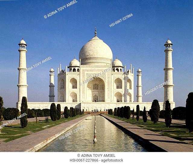India. Uttar Pradesh. Agra. Taj Mahal