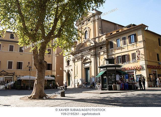 Sant'Agata in Trastevere, Rome, Lazio, Italy