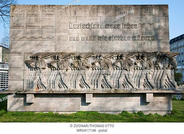 Hamburg, Germany, Worldwar II Memorial