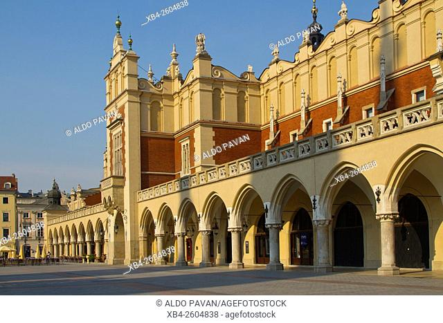 Sukiennice (Cloth Hall), Rynek Glowny (main square), Krakow, Poland