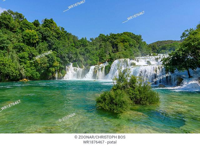 Krka Park Croatia waterfalls