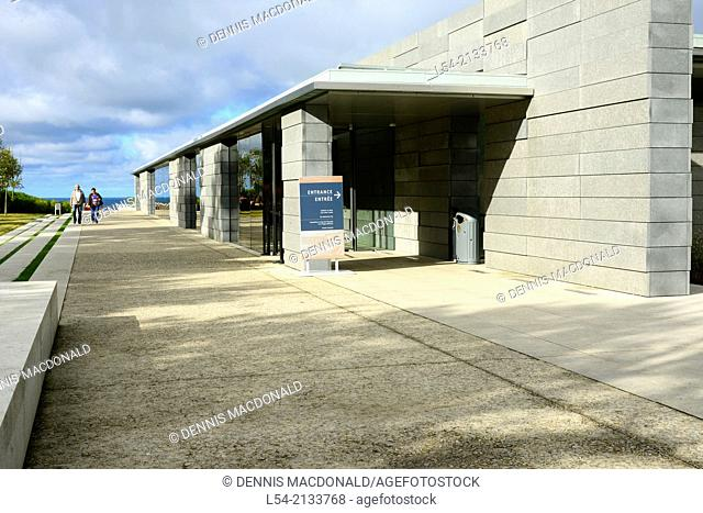 Visitor Center Normandy American Cemetery France Colleville Sur Mer FR Europe WWII