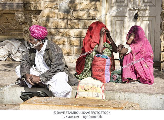Street scene, Jaisalmer, Rajasthan, India