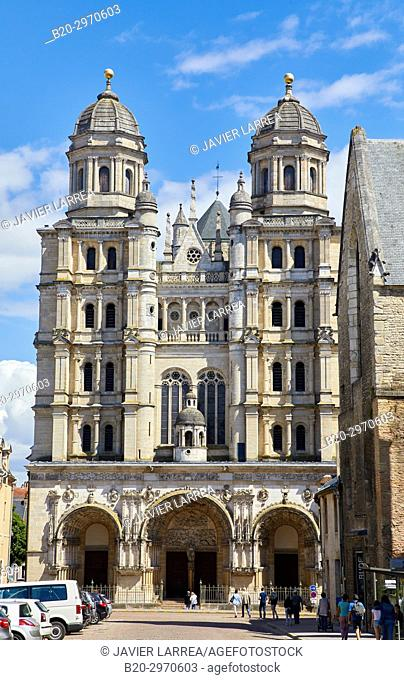 Saint-Michel church, Dijon, Côte d'Or, Burgundy Region, Bourgogne, France, Europe
