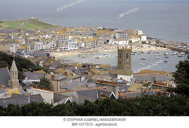 St. Ives, also known as Porthkerris, Cornwall, South England, UK, Europe