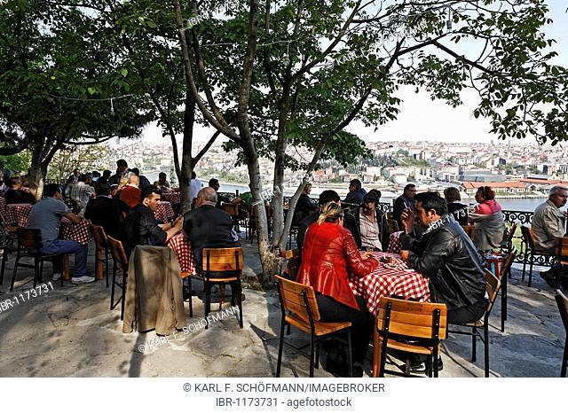 Cafe Pierre Loti, Eyuep, Istanbul, Turkey