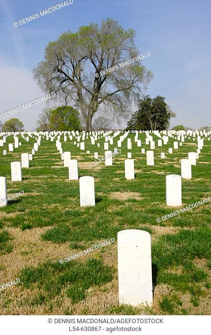 Nashville National Cemetery Madison. Nashville. Tennessee. USA