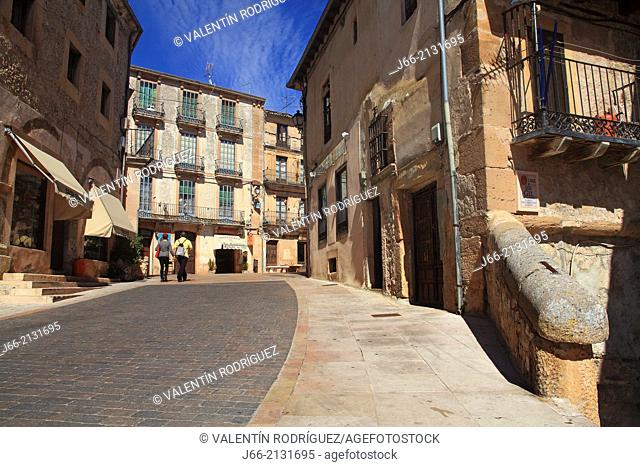 Sepúlveda street. Segovia