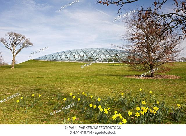 Great Glasshouse, National Botanic Garden, Wales, UK