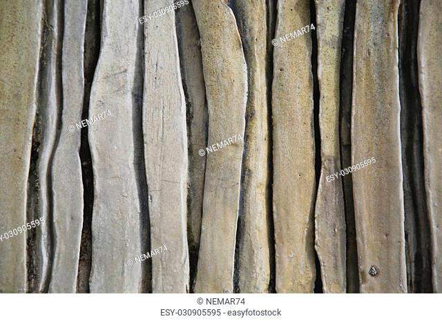 The Texture shape of old stone wall