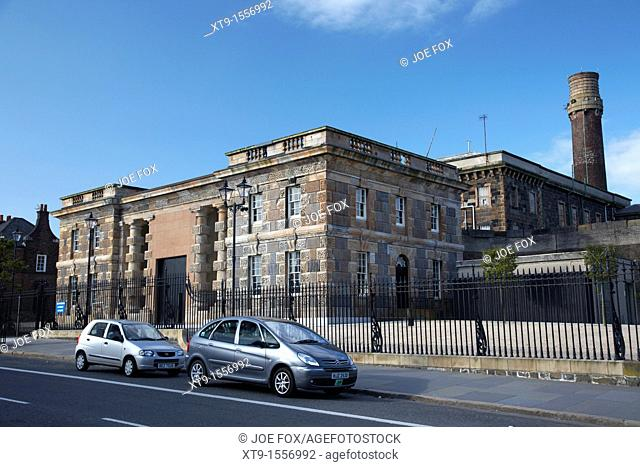 Crumlin Road Jail, Belfast, Northern Ireland, UK  The Gaol formerly known as HMP Belfast was designed by Charles Lanyon and built between 1843 and 1845  The...