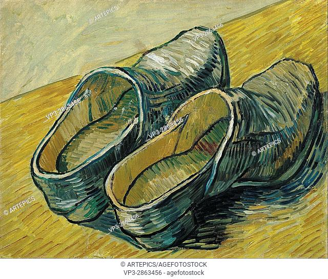 Vincent van Gogh - A pair of leather clogs - Van Gogh Museum, Amsterdam