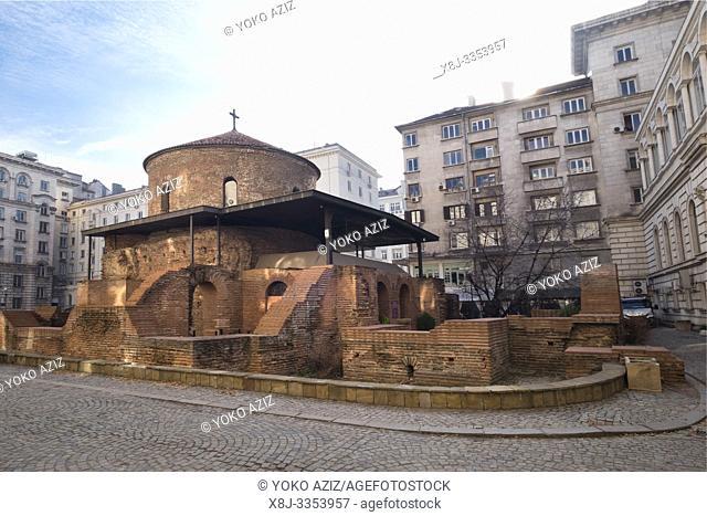 Bulgaria, Sofia, Town center, Church of St George