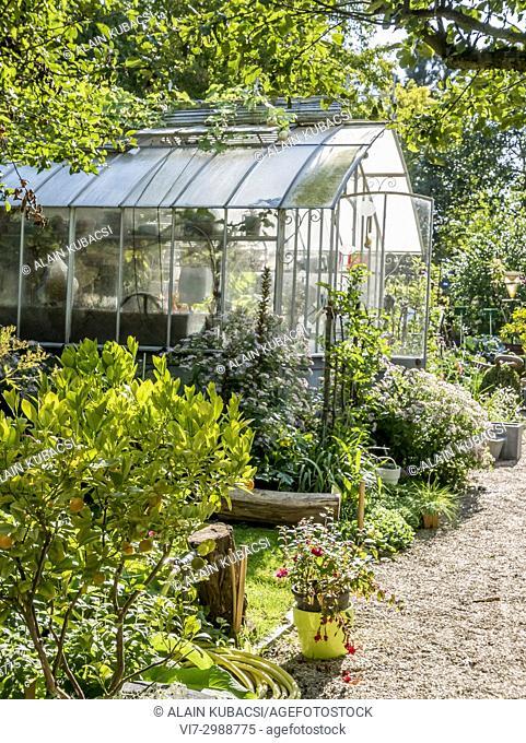 Greenhouse, Unusual Garden, Parc Floral Vincennes, Paris, France