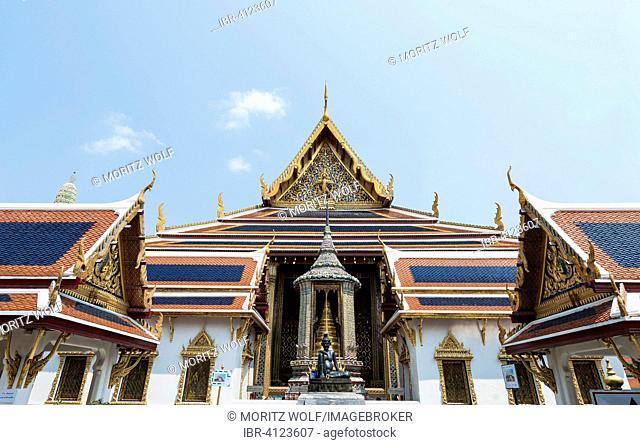 Wat Phra Kaeo Temple, Royal Palace, Prasart Phra Thepbidorn, Royal Pantheon, Bangkok, Central Thailand, Thailand