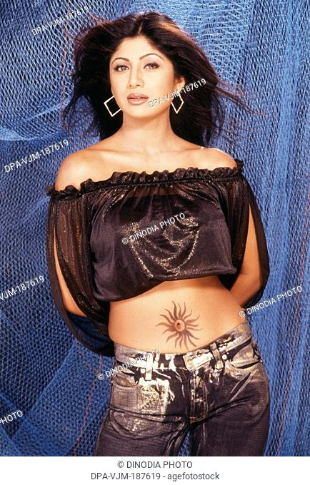 1997, Portrait Of Indian film actress Shilpa Shetty