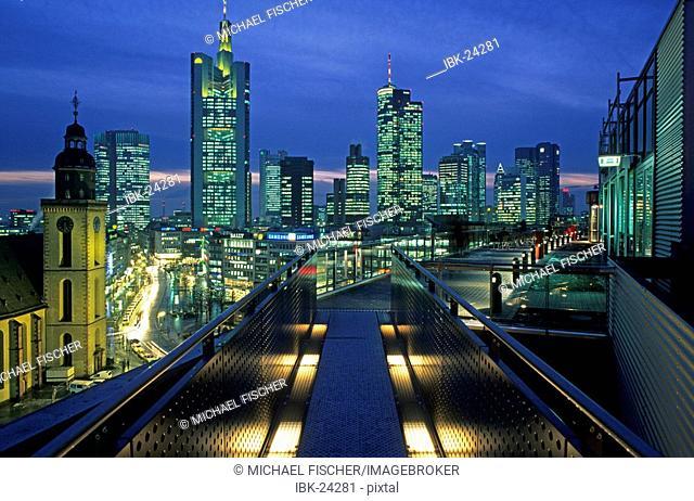 Frankfurt skyline Germany