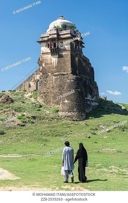 Rohtas Fort , Qila Rohtas , Raja Man Singh Haveli , Jhelum Punjab Pakistan