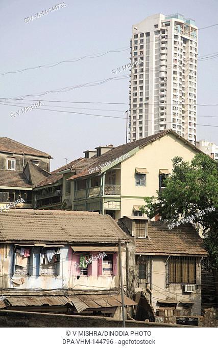 Mass Urban Housing Muzaffarabad Hall and Haji Kasam chawl at Grant Road ; Bombay now Mumbai ; Maharashtra ; India