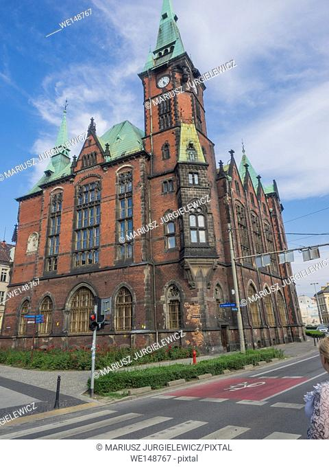 The former building of the Wroclaw University Library