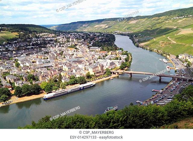 The Moezel river in Germany