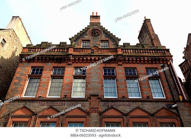 Scotland, Edinburgh, buildings of Whisky Experience