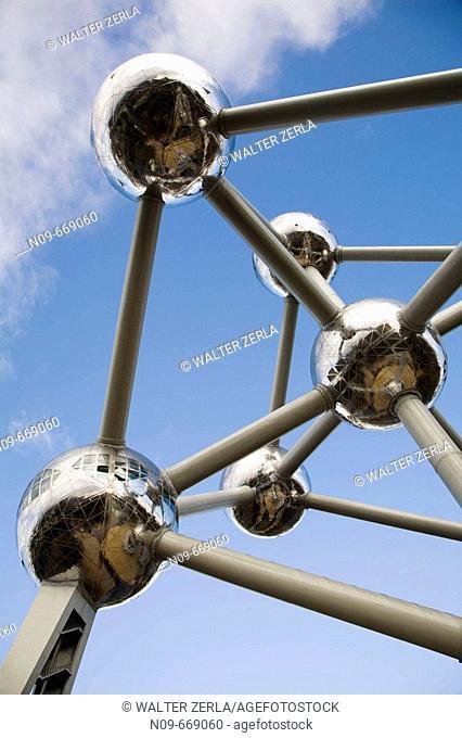Atomium, Brussels. Belgium