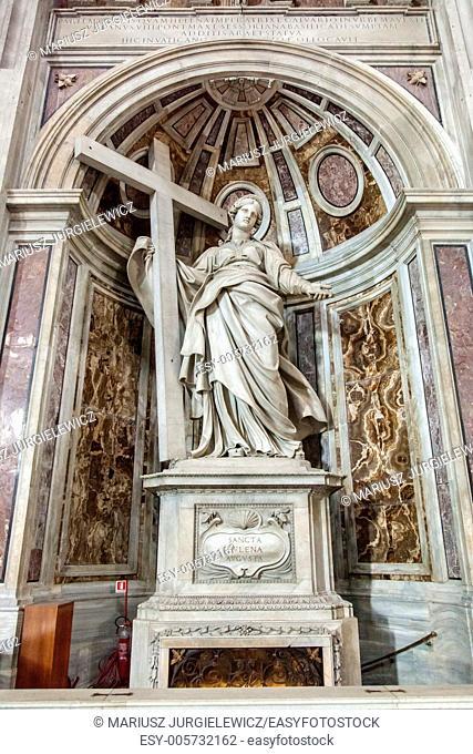 Shrine to Saint Helena in St. Peter's Basilica