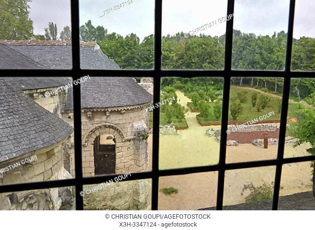 prieure Saint-Cosme a La Riche pres de Tours en Touraine, departement Indre-et-Loire, region Centre-Val de Loire, France, Europe/Priory of St