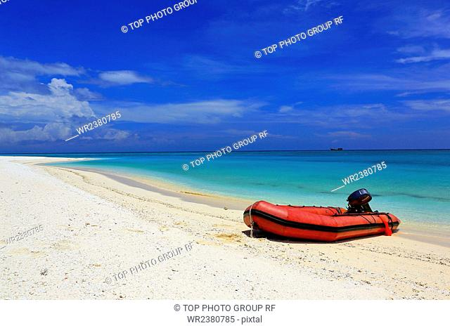 China Hainan Province Sansha the Xisha Islands Xuande islands west of Sha Chau