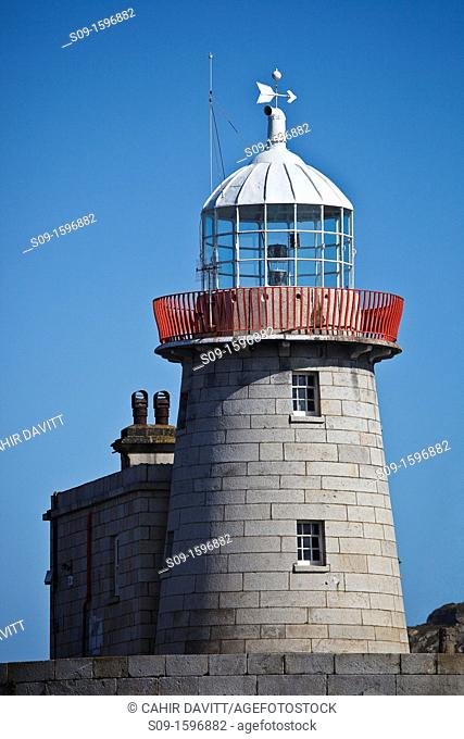 Ireland, Dublin, Howth  Howth Harbour Lighthouse
