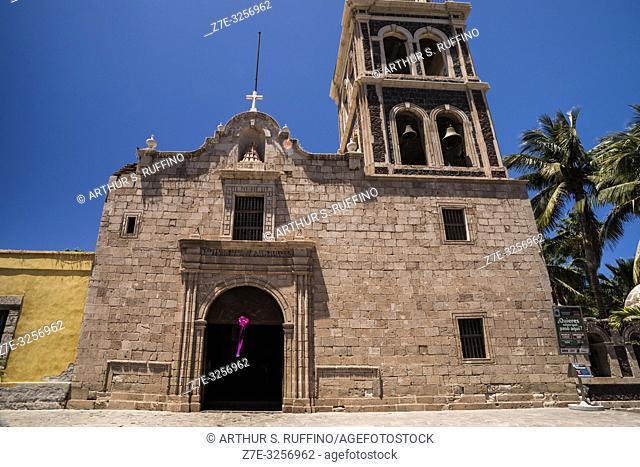 Mission of Nuestra Señora de Loreto Conchó (Mission of Our Lady of Loreto). UNESCO World Heritage Site. Loreto, Baja California Sur, Mexico